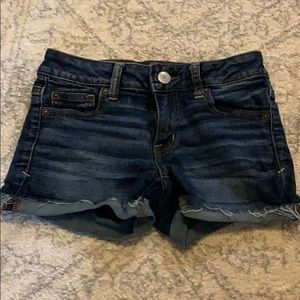 NEW AMERICAN EAGLE JEAN SHORTS